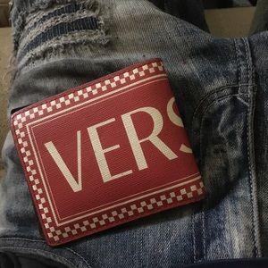 Versace wallet men's